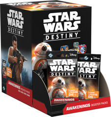 Star Wars Destiny Dice Building Game: Awakenings Booster Pack Display (36-count)