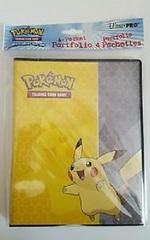 Ultra Pro: Pokemon Pikachu 4pkt 4-pocket pages 84567