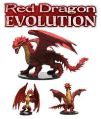 Pathfinder Battles: Red Dragon Evolution boxed set