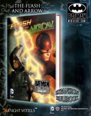 Batman Miniature Game: The Flash and Arrow Expansion Rulebook Knight Models