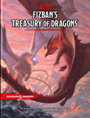 D&D 5th edition: PRESALE Fizban's Treasury of Dragons Regular Cover Edition