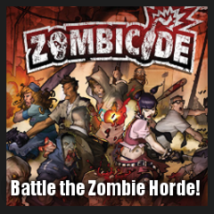 Square Banner - Zombicide Black Plague