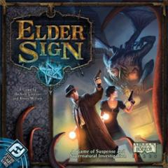 Elder Sign: base/core set Call of Cthulhu dice building game FFG
