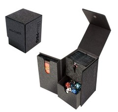 MTG: Ultra Pro BLACK pro-tower deck box 3-compartment