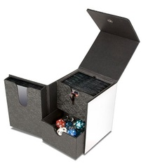 MTG: Ultra Pro WHITE artist series pro-tower deck box 3-compartment