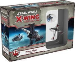 Star Wars X-Wing miniatures game Rebel Aces expansion fantasy flight