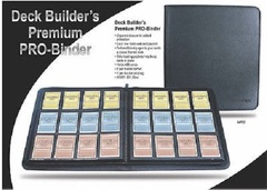 Ultra Pro: 12-pocket deck builder's Premium Pro Binder BLACK 84722