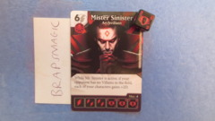 Marvel Dice Masters: Mister Sinister, Archvillain #46 (common)