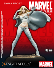 Marvel Universe Miniature Game: Emma Frost Knight Models