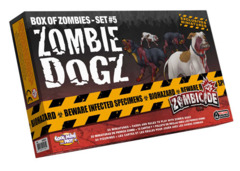 Zombicide: Zombie Dogz expansion box of zombies set 5