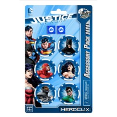 Heroclix: Justice League Trinity War Dice and Token Pack