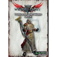 Warhammer 40K Wrath & Glory RPG: PRESALE Peril of the Warp cards deck