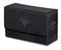 MTG: Ultra Pro Black mana matte flip DUAL Deck Box