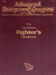 AD&D Dungeons & Dragons RPG: The Complete Fighter's Handbook TSR