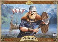 879 Vikings: PRESALE The Invasion of England board game academy
