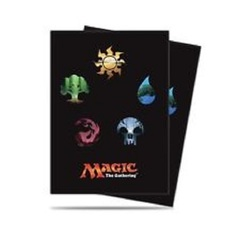 Ultra Pro Series 5 Mana Symbols Card Sleeves