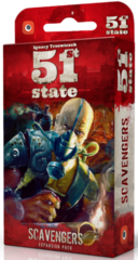 51st State: PRESALE Scavengers card game expansion