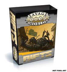 Savage Worlds: Savage Rifts - Collector's Case Boxed Set