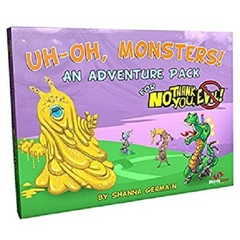 No Thank You, Evil RPG: PRESALE Uh-Oh, Monsters!