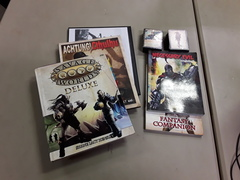 Savage Worlds RPG: Rulebook and Supplement Lot - Used, Good Condition
