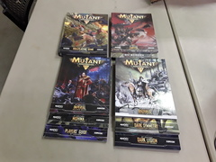 Mutant Chronicles RPG: 3rd Edition Rulebook and Supplement Lot - Used, Good Condition