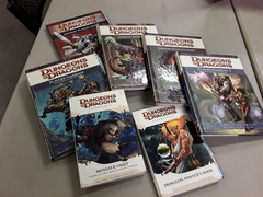 Dungeons & Dragons 4th Edition: Rulebook and Supplement Lot