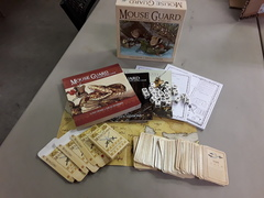 Mouse Guard RPG: Boxed set - Used and Complete - Great Condition