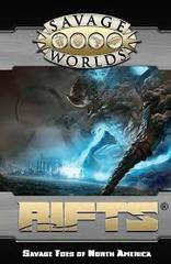 Savage Worlds: Savage Rifts - Foes of North America softcover