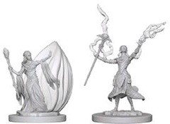 D&D Nolzur's Marvelous Unpainted Minis: Elf Female Wizard (pack of 2)