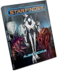 Starfinder Roleplaying Game RPG:  Alien Archive paizo