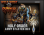 Wild West Exodus miniatures game: PRESALE Holy Order of Man Starter Army Box