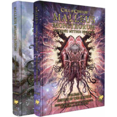 Call of Cthulhu RPG: PRESALE Malleus Monstrorum Mythos Bestiary slipcase set