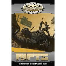 Savage Worlds: Savage Rifts - The Tomorrow Legion Player's Guide softcover