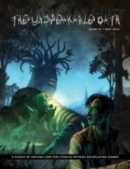 Call of Cthulhu RPG: The Unspeakable Oath #21 magazine