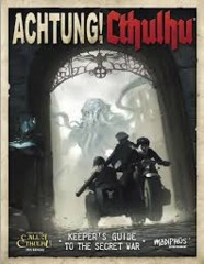 Achtung! Cthulhu RPG: PRESALE Investigator's Guide to the Secret War supplement modiphius