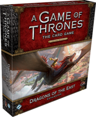 A Game of Thrones LCG: 2nd Edition PRESALE Dragons of the East deluxe expansion ffg