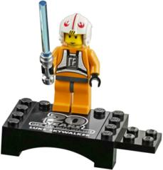 LEGO Star Wars 20th anniversary: Luke Skywalker minifigure + light saber 75258 authentic