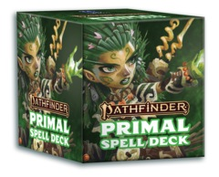 Pathfinder RPG: PRESALE 2nd edition P2 Primal Spell Cards paizo