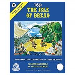 D&D 5th edition: The Isle of Dread original adventures reincarnated