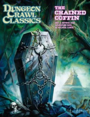 Dungeon Crawl Classics RPG: PRESALE #83 Chained Coffin hardcover regular edition Goodman