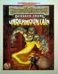 AD&D Dungeons & Dragons: Undermountain - The Lost Level adventure