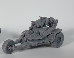 Mantic Warpath: Orx Raptor loose built