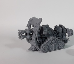 Mantic Warpath: Forge Father Hailstorm Cannon loose built