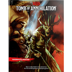 D&D 5th edition Dungeons and Dragons: Tomb of Annihilation