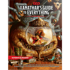 D&D 5th edition Dungeons and Dragons: Xanathar's Guide to Everything