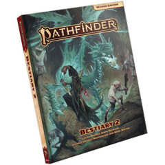 Pathfinder RPG: 2nd edition P2 Bestiary 2 regular edition hardcover