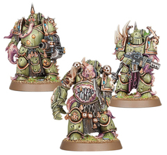 Warhammer 40K: Easy to Build Death Guard Plague Marines GW