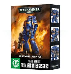 Warhammer 40K: Easy to Build Space Marine Primaris Intercessors GW