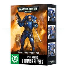 Warhammer 40K: Easy to Build Space Marine Primaris Reivers GW