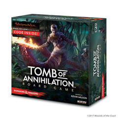 Tomb of Annihilation: Dungeons & Dragons STANDARD Edition board game wizkids